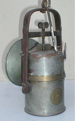 Carbide lamp (rear)